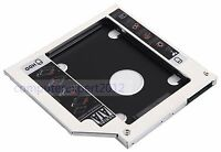 2nd Hard Drive SATA HDD SSD Caddy for HP Pavilion 15-p247sa 15-n080sf 17-g121wm