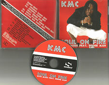 KMC w/ BEENIE MAN Soul on Fire 9TRX INSTRUMENTAL & MIXES & EDIT PROMO CD Single