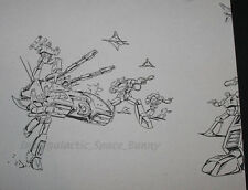1984 Takara Transformers TV Magazine Internal Art Copy Megatron on Tank