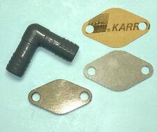 TDI EGR Cooler Delete Kit Block Off Plate Fel-Pro Gasket BRM MK5 Jetta VW