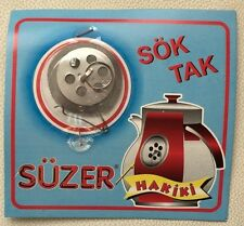 Tea leaf filter - Sok Tak Suzgec - Caydanlik Suzgeci