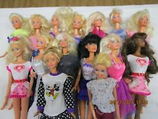 Mattel Barbie Lot! Good Condition W/ Clothing And Accessories H1