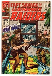Captain Savage and His Battlefield Raiders #8, Very Fine Condition