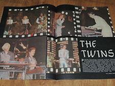 Ekran 48/1984 polish magazine Hanna Nikuc,  The Twins Marlene Dietrich Hemingway