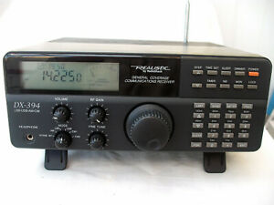 Realistic DX 394 with manual and antenna