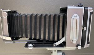 LINHOF SUPER TECHNICA V, WITH 150 CAM, ORIGINAL CASE. EXCELLENT+++