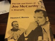 The Life and Times of Joe McCarthy by Thomas C. Reeves (1981, Hardcover)