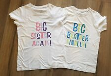 Big sister again or Big Brother Finally T-Shirt For Pregnancy Announcements,