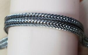 Grosse Armkette 925 Sterling SILBER Silberarmband filigran bracelet Armband