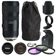 Tamron SP 70-200mm f/2.8 Di VC USD G2 Lens for Nikon F + Deluxe Accessory Kit