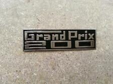LAMBRETTA GRAND PRIX 200 LEGHIELD BADGE CHROME BRASS NEW GP 200