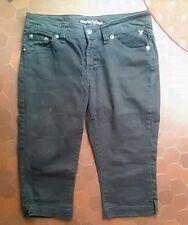 Pantacourt en jean noir femme COMPLICES taille 42