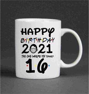 2021 Birthday mug Lockdown / Quarantine / Novelty / Friends