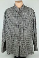 Woolrich John Rich & Bros Mens 2XL Plaid Long Sleeve Button Up Flannel Shirt