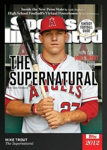 2021 Topps X Sports Illustrated *YOU PICK* Trout Mantle +