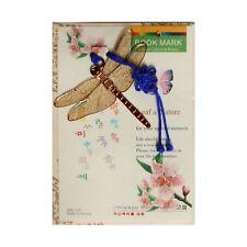 Traditional Korean reader Metal Bookmark - dragonfly