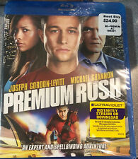 Premium Rush (Blu-ray Disc), NEW, SEALED