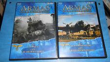 DVD LOTE 5 DVD DOCUMENTALES ARMAS DE LA SEGUNDA GUERRA MUNDIAL