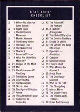 1991 Impel Star Trek 25th Anniversary #159 Checklist