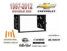 Double DIN Installation Dash Kit for 97-2012 CHEVY MALIBU BLAZER S10, TOOL KIT