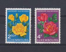 A4623) LUXEMBOURG 1956 Flowers - Fiori MNH** 2v