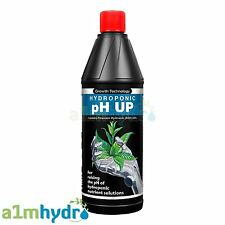 Growth Technology pH Up 1 Litre 1L pH Adjustment Alkaline Solution Hydroponics