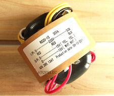 220V 30W r-core transformer for audio ampli amplificateur micros dac cd 15V+15V