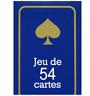 JEU DE 54 CARTES poker ,bridge ,rami ect rouge ou bleu