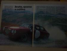 ARTICOLO LANCIA FLAVIA SUPER SPORT ZAGATO   --  1985