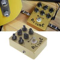 JOYO JF-13 AC Tone Vox Amp Simulator Guitar Effect Pedal True Bypass 6 controls