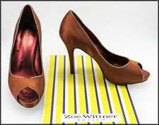 Wittner Satin Open Toe Heels for Women
