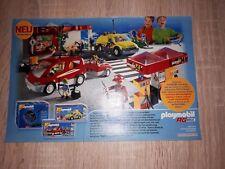 Playmobil RC 3213 / 3214 / 3670 Werbung Werbeanzeige Deutschland 2001 rar