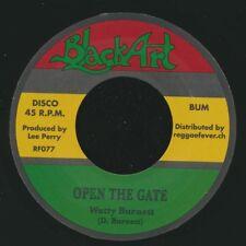 "NEW 7"" Watty Burnett - Open The Gate / Upsetters - open The Gate Dub"