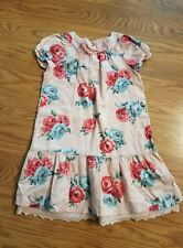 janie and jack 5T girls dress pink floral