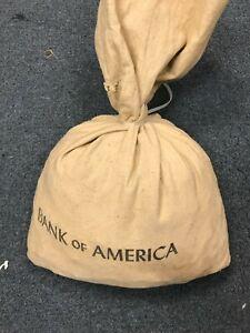 BANK OF AMERICA Bank Bag 5000 U.S. WHEAT CENT Bag 1888-1958