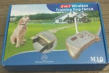 Intelligent 2 in 1 Dog Training & Outdoor Wireless Fence System M10 New