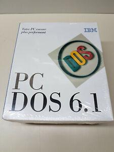 """NEW SEALED Genuine OEM IBM PC DOS 6.1 67G7073 3.5"""" FRENCH/FRANÇAIS"""