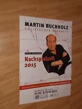 Kabarett,Plakat,Satire,Martin Buchholz,Tourplakat,