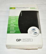 GP Batteries 10000 mAh Portable Powerbank phones charger durable black A2