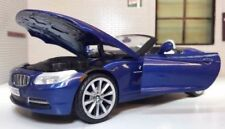Coches, camiones y furgonetas de automodelismo y aeromodelismo azules Cabrio BMW