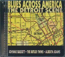 SEALED NEW CD Johnnie Bassett, The Butler Twins, Alberta Adams - Blues Across Am