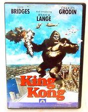 2D DVD KING KONG 1970's Version Classic Jeff Bridges Jessica Lange Debut Film!