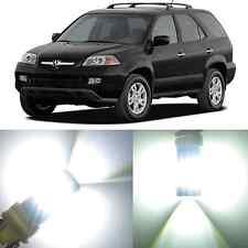 Alla Lighting Front Signal Light 3457K White LED Bulbs for 1991~06 Acura MDX NSX