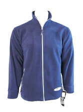 Hodge Heg Ezee Mens Fleece Jacket Coat (Navy) - S