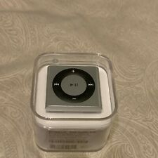 Apple iPod Shuffle 4th Generation Silver (2 GB) New Sealed