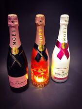 MOET CHANDON IMPERIAL Rose Champagne Set 3x 0,75l BOTTIGLIA 12% vol ICE Nectar