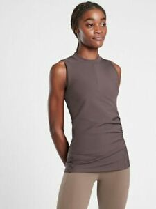ATHLETA Bayview Tank Top Sleeveless S Small Shale NWT #598817