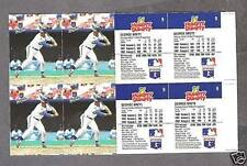 1993 Humpty Dumpty Royals' George Brett Proof Uncut (4)