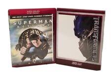 HD DVD LOT OF 2SUPER HERO MOVIES ~ SUPERMAN RETURNS & TRANSFORMERS