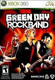 BRAND NEW Sealed Green Day: Rock Band (Microsoft Xbox 360, 2010)